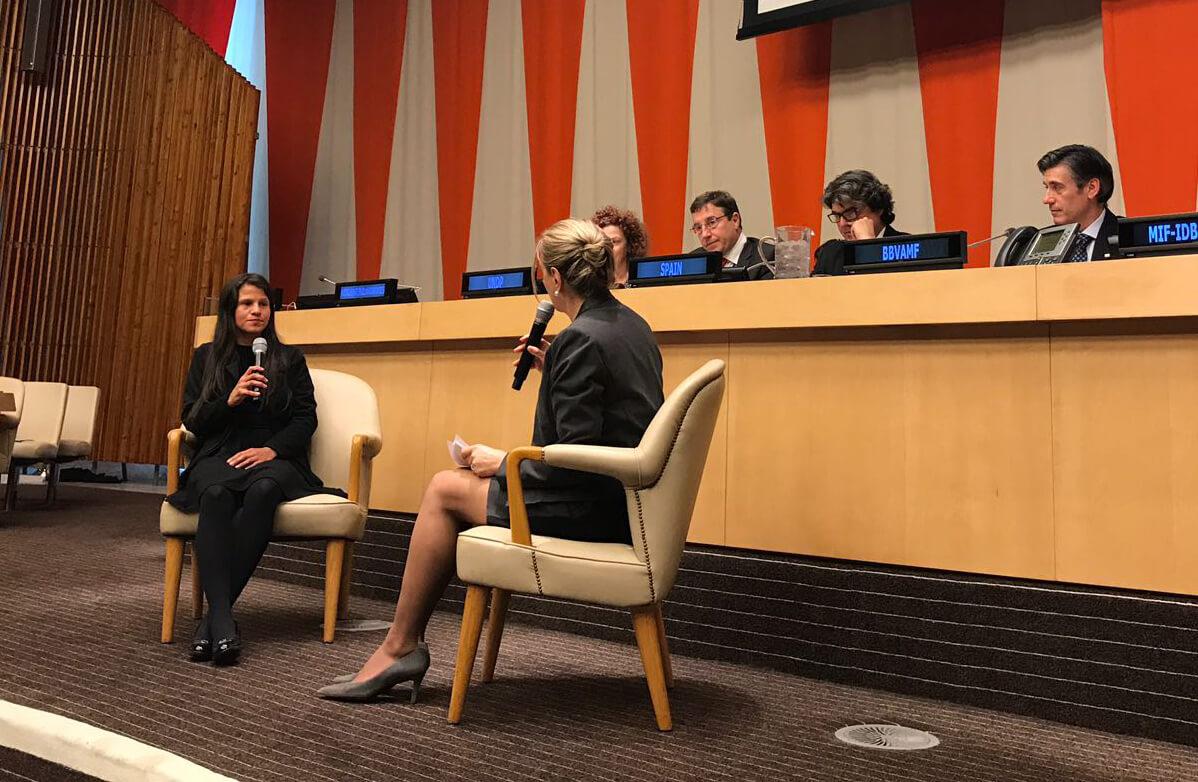 Fundación lleva a la ONU voz de mujer emprendedora latinoamericana