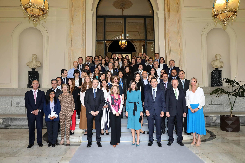 Huancaína habló de emprendedimiento femenino en evento con reina Letizia